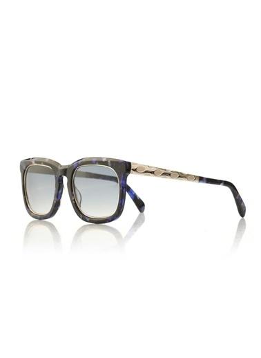 Emilio Pucci  Ep 0021 55W Kadın Güneş Gözlüğü Mavi